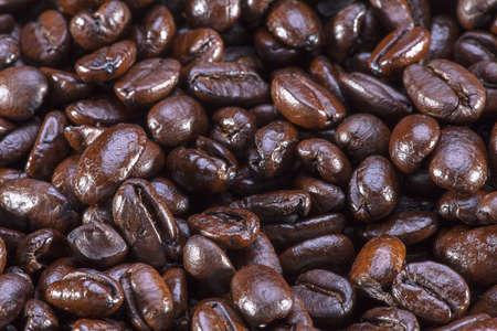 grain de café  gros plan