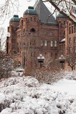 lawmaking: Ontario parlament building