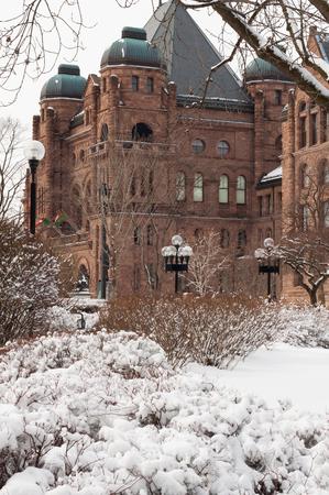 lawmaking: Ontario parlament building
