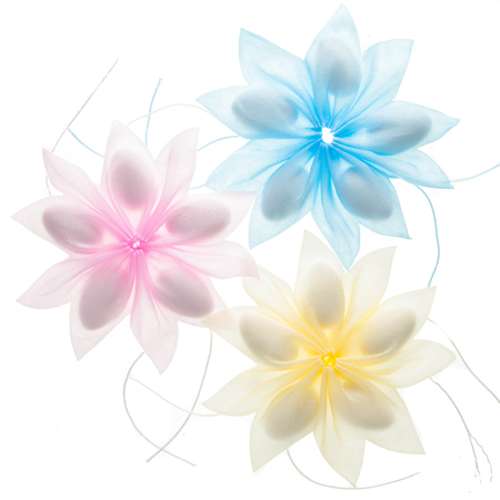Colored Confetti Favors isolated over white background Stock fotó - 80354452