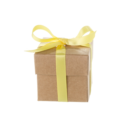 favor box isolated on white background