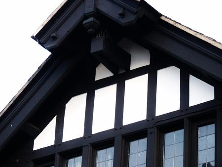 chester: chester tudor building historic Stock Photo