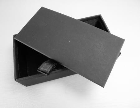 black silk presentation box business