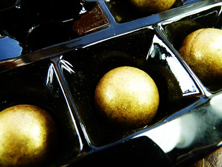 gilt chocolates in presentation package