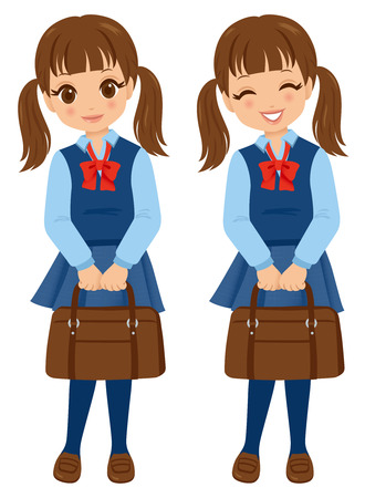 A female student