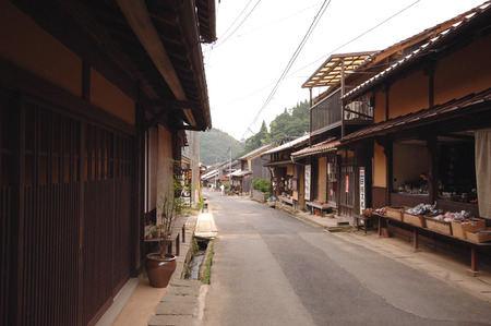townscape: Iwami ginzan Silver Mine townscape preservation district