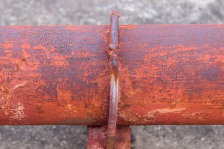 Rusty pipe photo