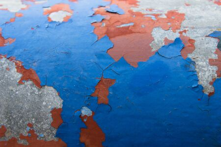 peeling paint texture background photo