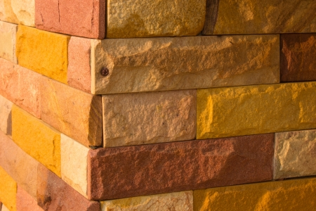 A stone wall , flat stacked background and textured Stock Photo - 20954081