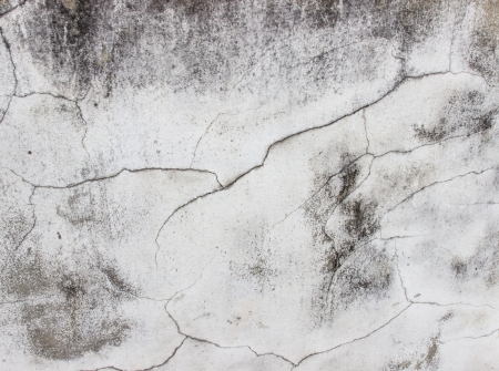 fissures: Cracks and fissures on wall,Textured and backgrounds Stock Photo