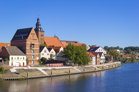 Cityscape of Havelberg with Havel River. Havelberg is a town in the district of Stendal, in Saxony-Anhalt, Germany. It is situated on the Havel, and part of the town is built on an island in the centre of the river. The Bishopric of Havelberg was founded