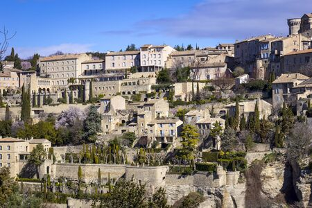 Gordes is a commune in the Vaucluse. Gordes is located 38 kilometres east from Avignon.The village itself is located in the center of the commune, on a giant calcareous rock from the Vaucluse Mountains, dominating the valley.