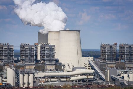 Coal-fired Power Station, Janschwalde, Brandenburg, Germany