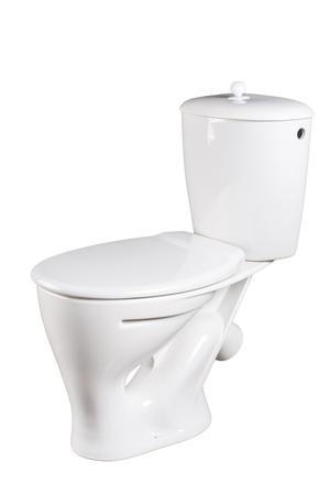 toilet bowl: toilet bowl isolated on a white background