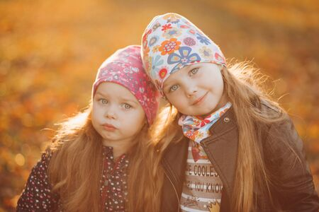 Happy kids are spending time together outdoors Zdjęcie Seryjne