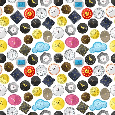 Time background illustration.