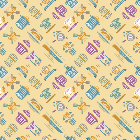 Cooking pattern illustration.