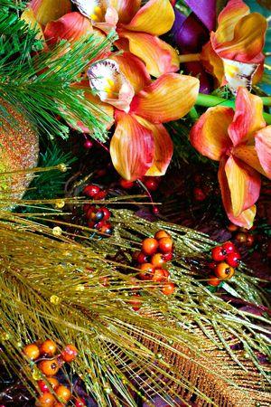 Christmas Holiday Textures 4706 Stock Photo