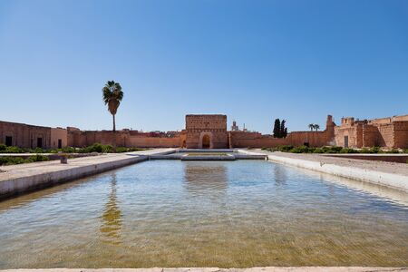 incomparable: El Badi Palace  meaning The incomparable palace  Marrakesh, Morocco