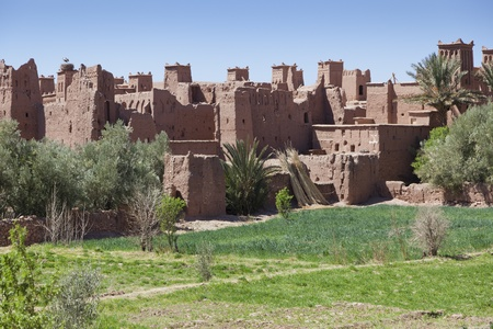 Kasbah in Ait Ben Haddou, Morocco northern Africa