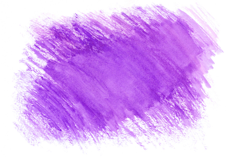 Violet watercolor dry brush strokes. Beautiful abstract background for designers, mock-ups, invitations, postcards, web, canvas for text and congratulations.