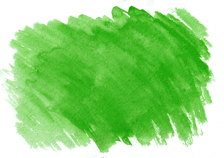 Light green watercolor gradient brush strokes. Beautiful abstract background for designers, mock-ups, invitations, postcards, canvas for text and congratulations Stock Photo