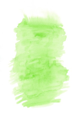 Light green vertical gradient background painted on the special watercolor paper. Good resolution. Stock fotó