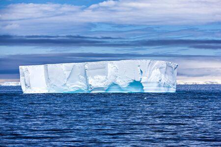 antarctic peninsula: Huge antarctic iceberg on the antarctic peninsula  Taken in the Trinity Peninsula, december 27 2011