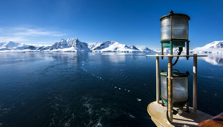 Antártida Paisaje excepcional belleza natural. Foto de archivo - 30121716
