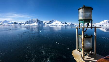 Antarctica Outstanding Landscape Natural Beauty. Imagens