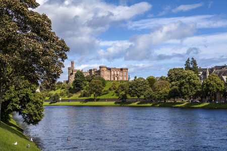crenelation: Inverness Castle taken from Ardross Street
