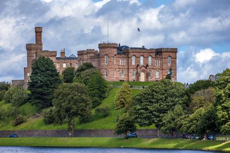 crenelation: Inverness Castle taken from Ardross Street