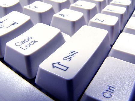 keyboard: blue keyboard