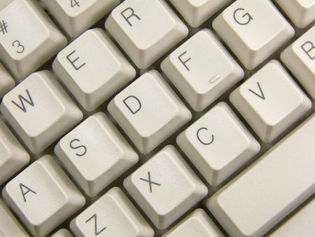 keyboard: Keyboard close-up Stock Photo