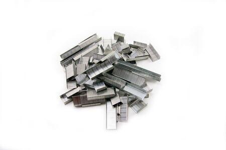office stapler: staples Stock Photo