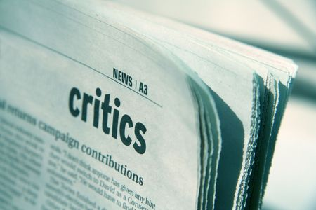 critic: newspaper