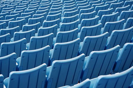 empty stadium seats Stock Photo - 332086