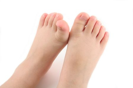 child foot photo