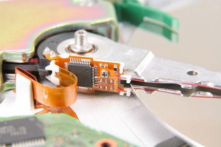 hard: Hard drive details Stock Photo