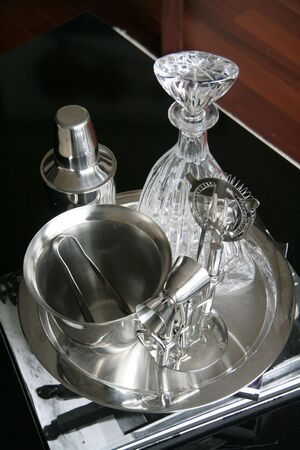 cocktail strainer: cocktail tools