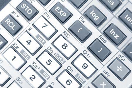 digitals: Detail of a Calculator