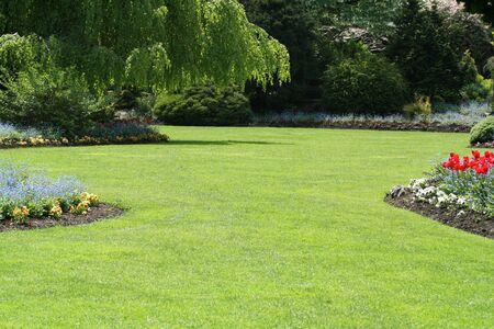 artistry: garden Stock Photo