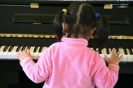 hymn: practice piano