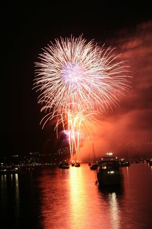 fireworks in vancouver photo