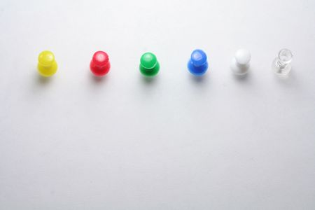 tu puedes: pushpins, puede elegir el color que usted necesita