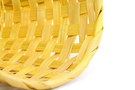 a yellow basket close up Stok Fotoğraf