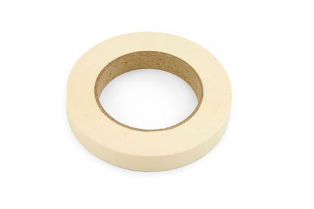 sticky tape with white background