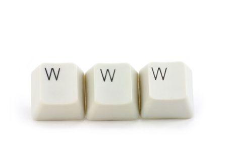 worldwide web: carta de llaves cerca, el concepto de World Wide Web