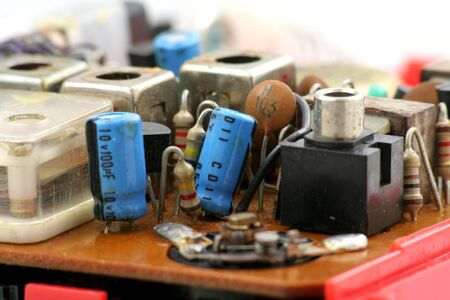transistor: transistor de radio de cerca disparo