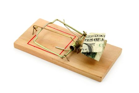 us dollar and Mousetrap, concept of business trap